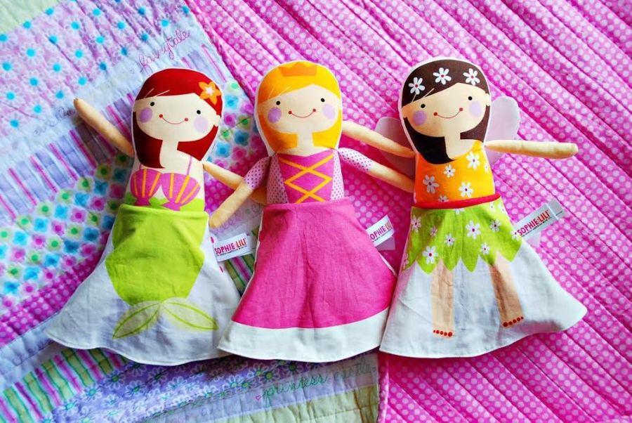 """muñecas """"flip dol"""""""