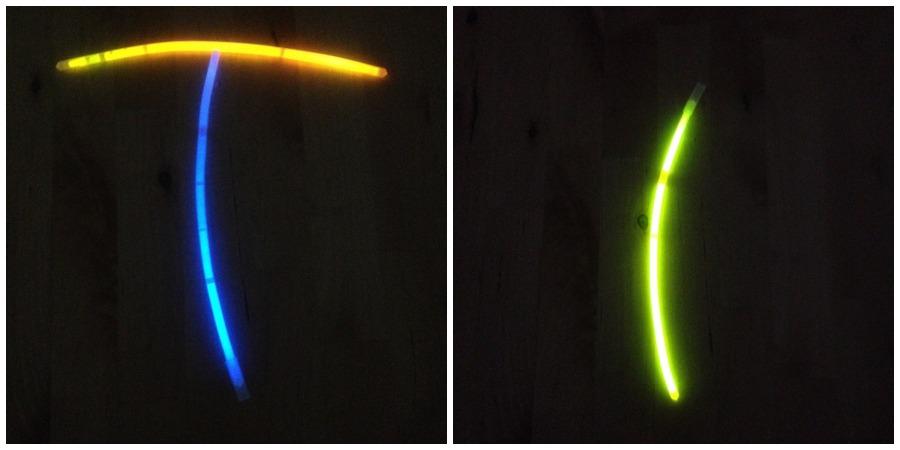 barritas fluorescentes