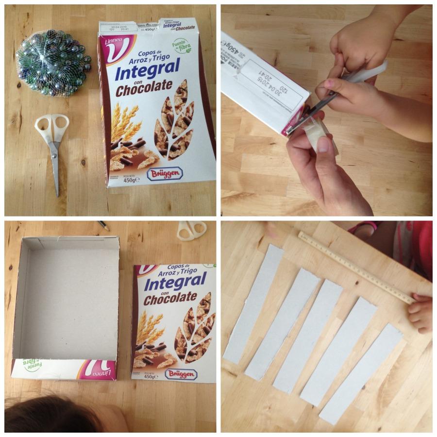Manualidades con cajas de cereales