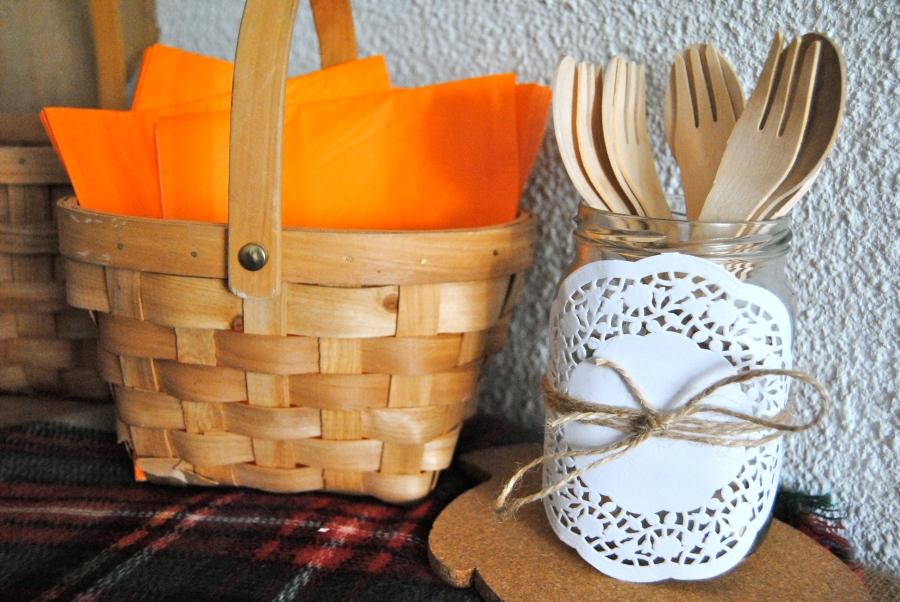 Autumn theme birthday party