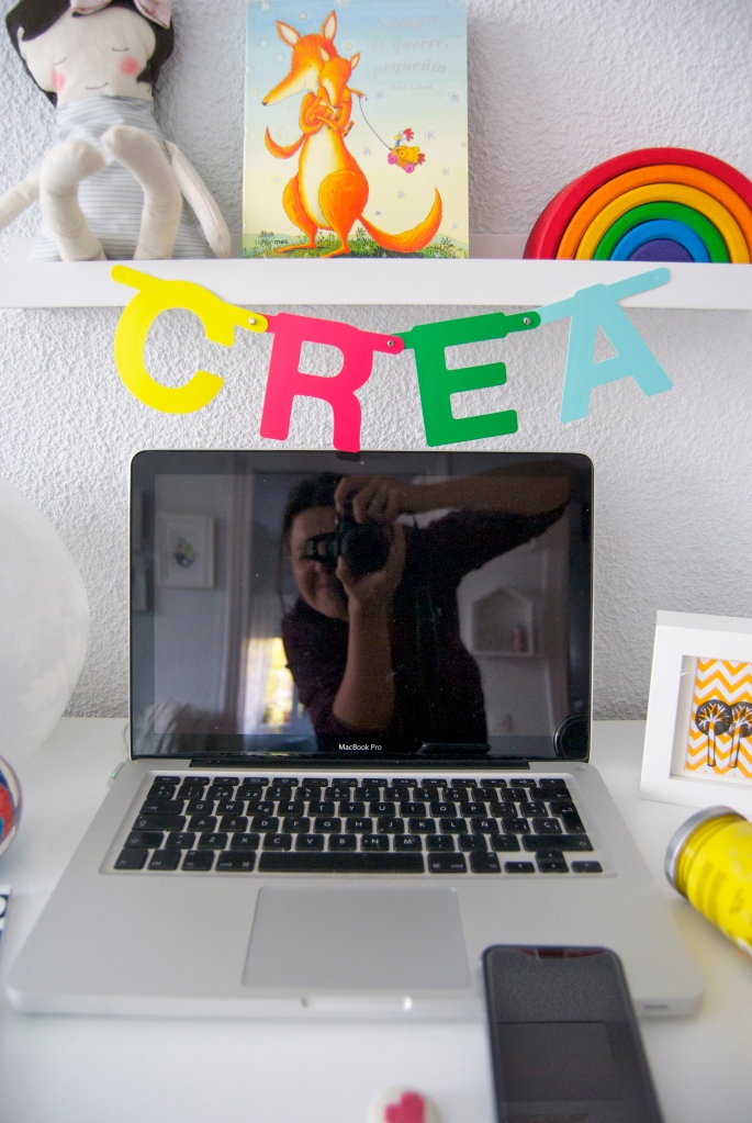 mood board hello blogging