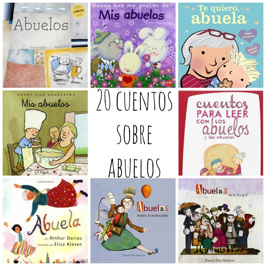 20 cuentos sobre abuelos