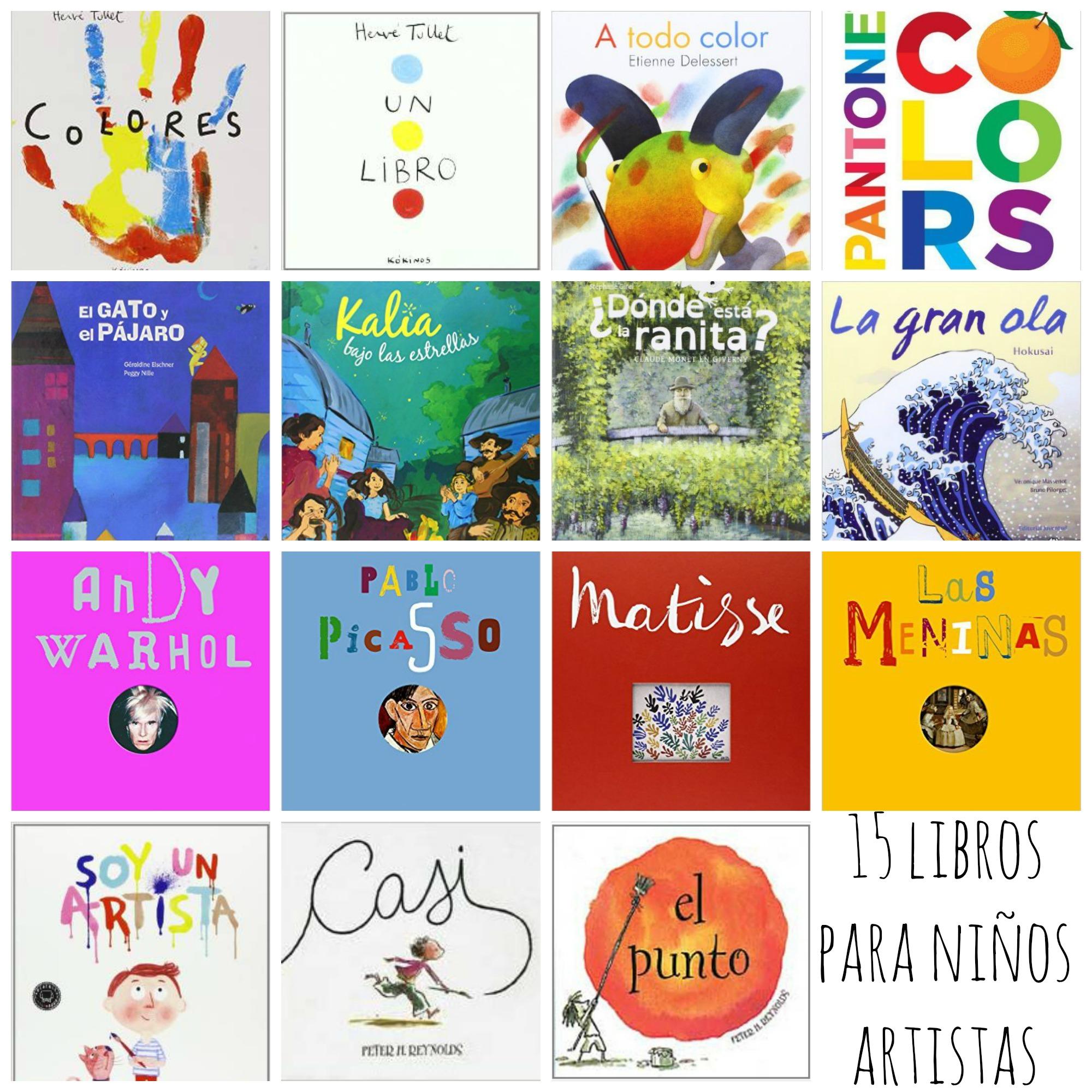 15 cuentos para niños artistas | Madrid, Martina & myself